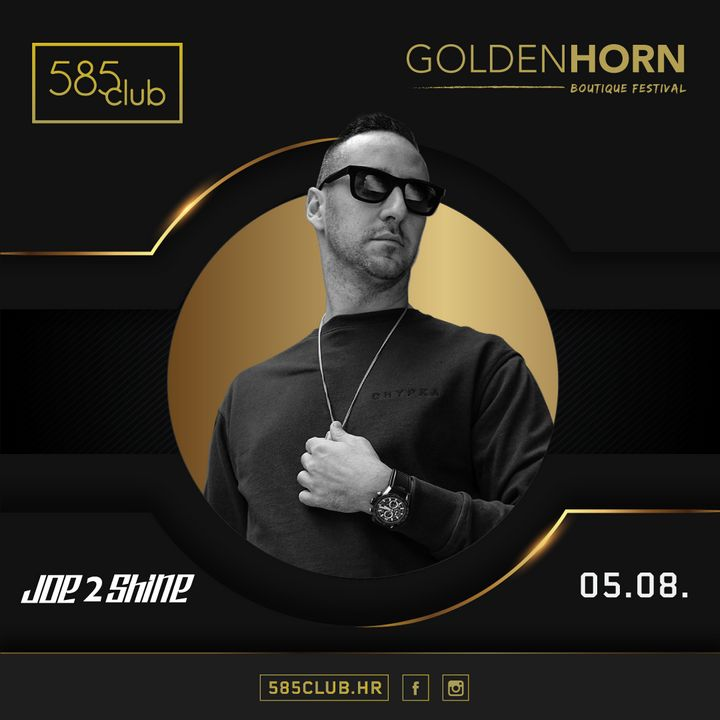 Joe2shine at Club 585, Bol, Brac, Summer 2021 Croatia